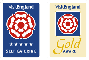 Five Star Gold Award from Visit England